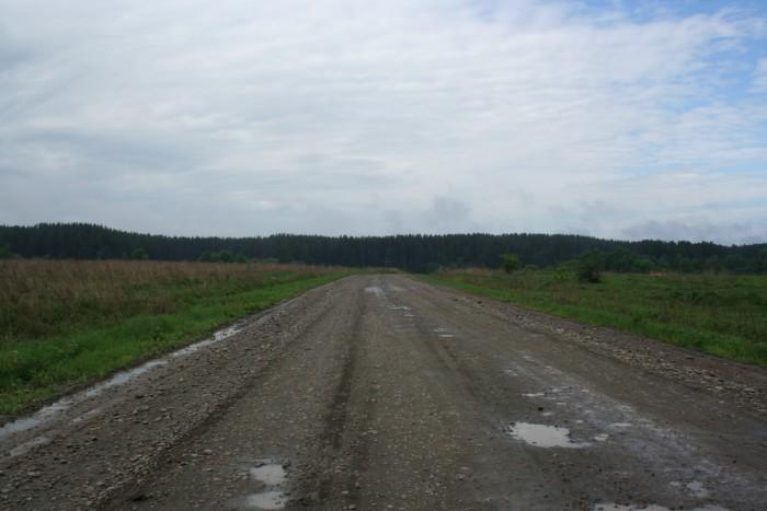 7) Gravel Roads