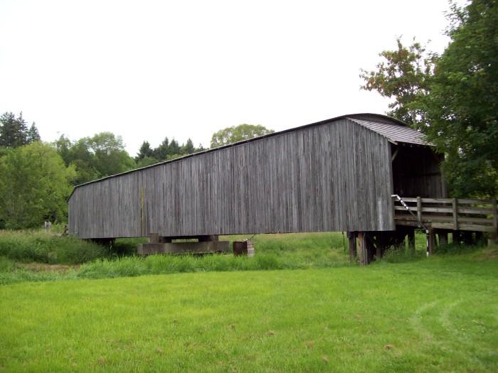 2. Grays River Covered Bridge