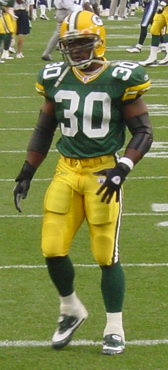 Ahman Green, Former NFL Running Back For the Green Bay Packers and the Seattle Seahawks, Born in Omaha in 1977