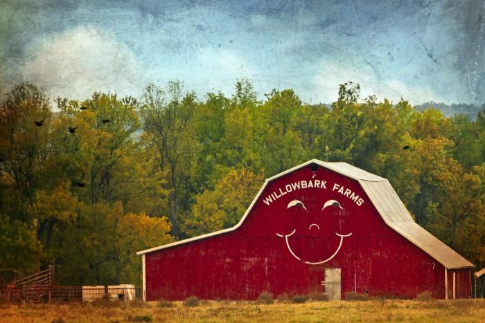 1. Happy Face Barn