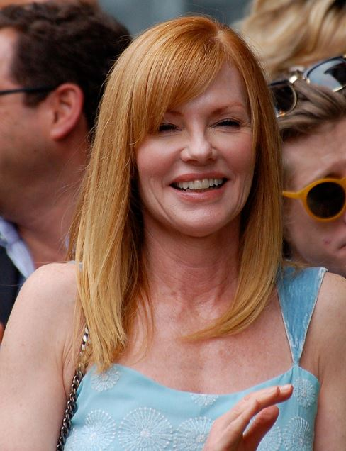TV and Movie Actress Marg Helgenberger, Born in Fremont in 1958