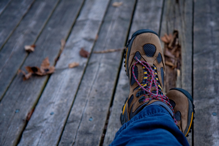 9. Hiking boots