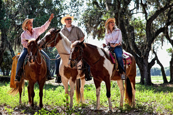9. Westgate River Ranch is a Resort and Rodeo will make you feel like a real modern-day cowboy with activities ranging from horseback riding and hayrides to bungee jumping and zip lining.  And yes, there's a real rodeo.