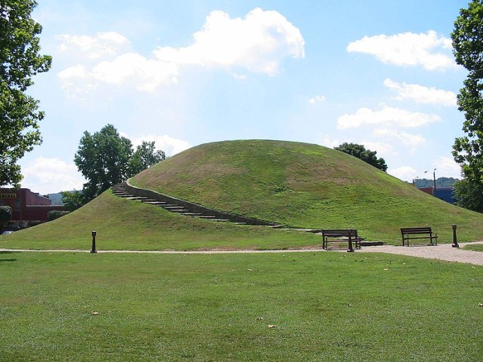 8. Indian Mound in South Charleston