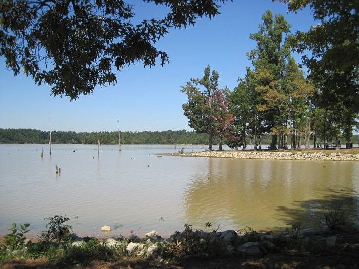 6. Jacksonport State Park: The beach at this historic location also includes boat ramp access to the White River.