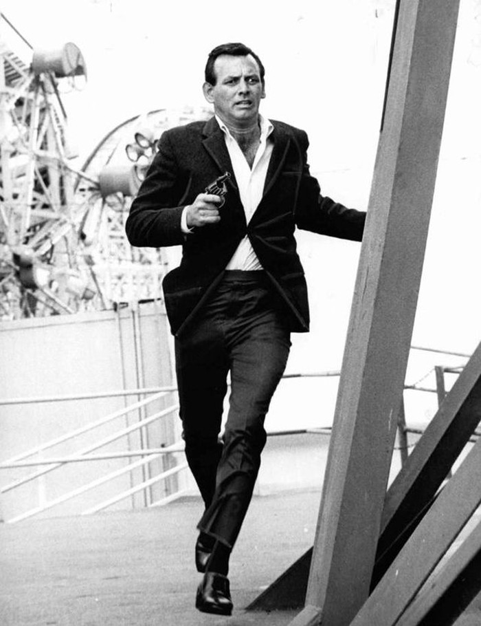 David Janssen, Film and Television Actor, Born in Naponee in 1931
