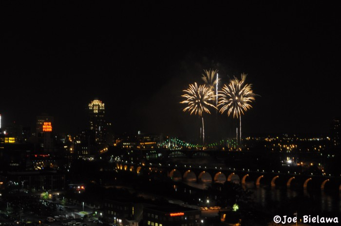 9 Watch the fireworks at Aquatennial.