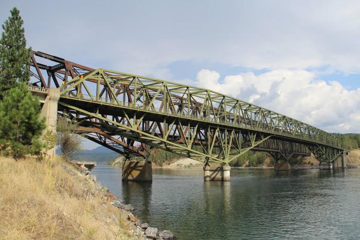 3. Kettle Falls Bridges