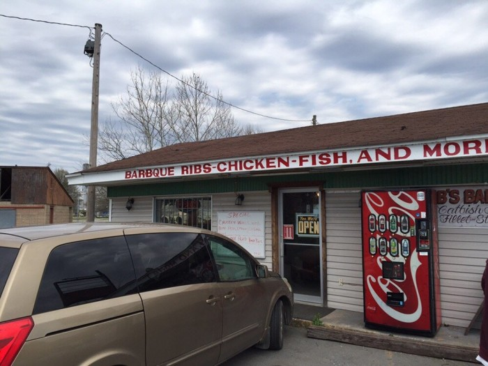 8. Kibbs' BBQ: The sauce is brag-worthy at this Stuttgart restaurant and so are the ribs. Try the pork combo!