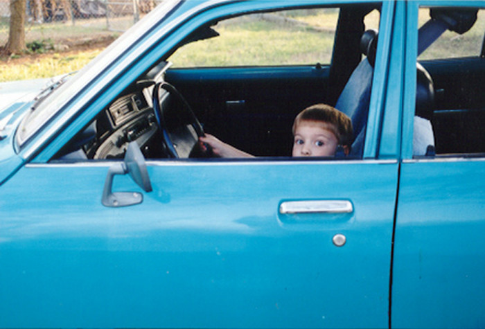 9. ...And you learned to drive Dad's pickup by the time you were 13.