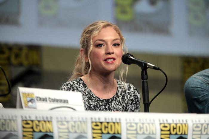 The Walking Dead Actress Emily Kinney, Born in Wayne in 1985