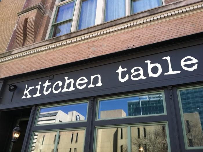 Kitchen Table, Omaha