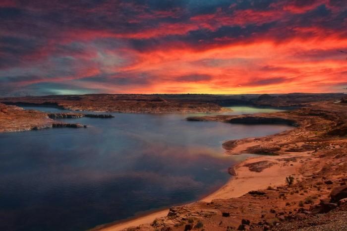 13. Sunrise at Lake Powell