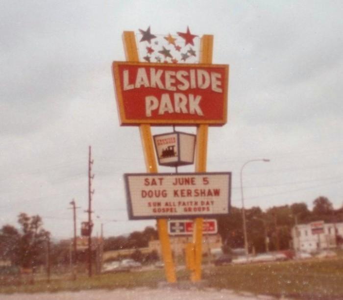 5. Lakeside Amusement Park, Salem