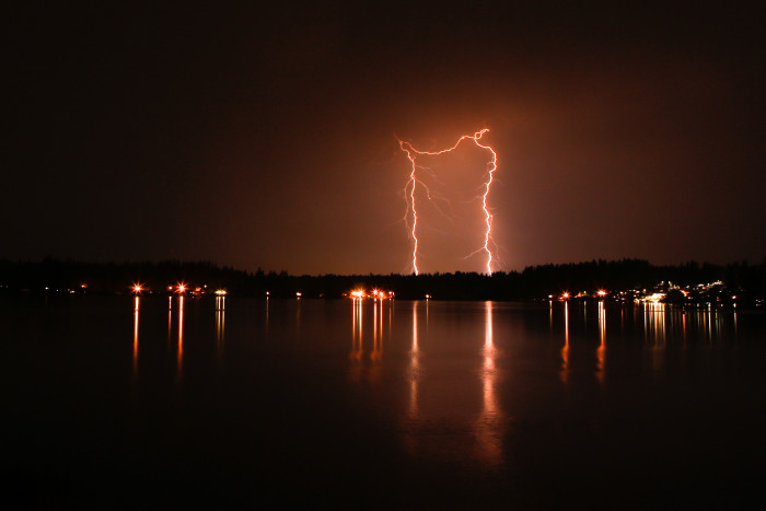 2. This electrifying shot was captured by Lake Goodwin!