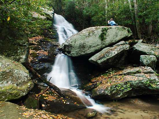 4. Upper and Lower Little Lost Cove Creek Falls, Blue Ridge Parkway