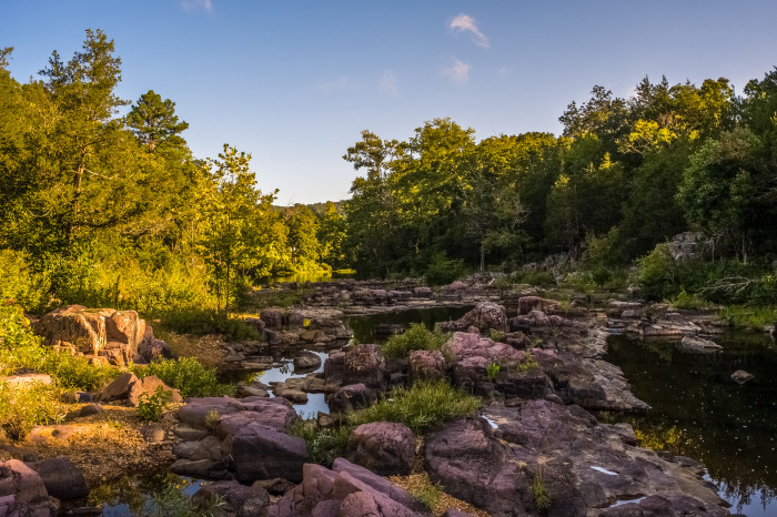 13. Marble Creek: Sunrise  in the Mark Twain National Forest