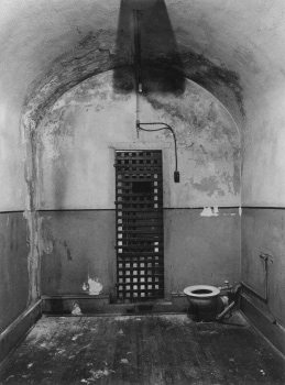 7. A mysterious handprint, that of an executed coal miner, has persistently remained on a cell wall in the Carbon County Jail since the late 1800s.