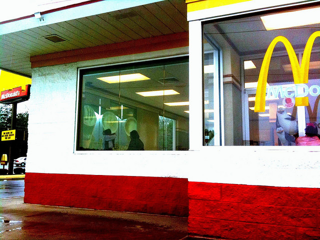 1. No one may suddenly stop or start their car at a Little Rock McDonalds.