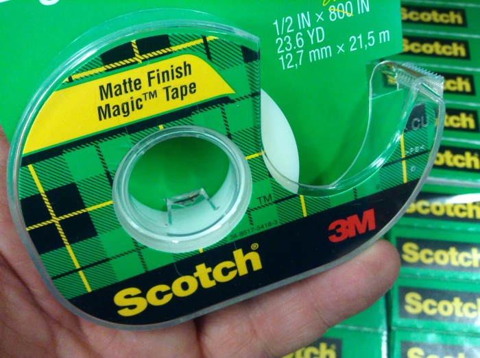 10 Scotch Tape!