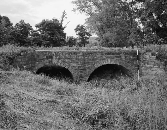 13. Milltown Bridge: This is a historic stone arch bridge in rural southeastern Sebastian County, Arkansas.