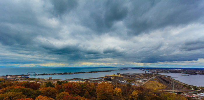 12 Head up Skyline in Missabe Junction for awe-inspiring 360 views of Duluth.