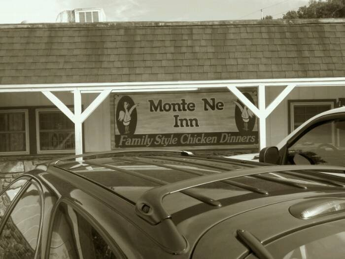 4. Monte Ne Inn: It's Dad's day, after all! Let him let go and go all in with him on the all-you-can-eat fried chicken and sides in this very at-home setting.