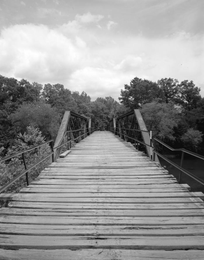 19. Mountain Fork Bridge: This is a historic bridge in rural Polk County, Arkansas.
