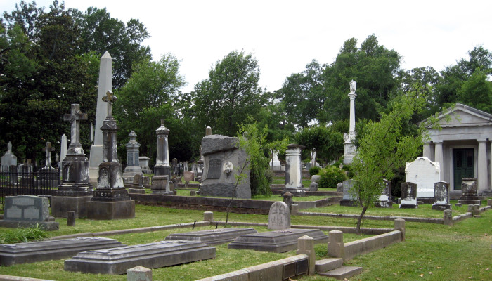 1. Mount Holly Cemetery