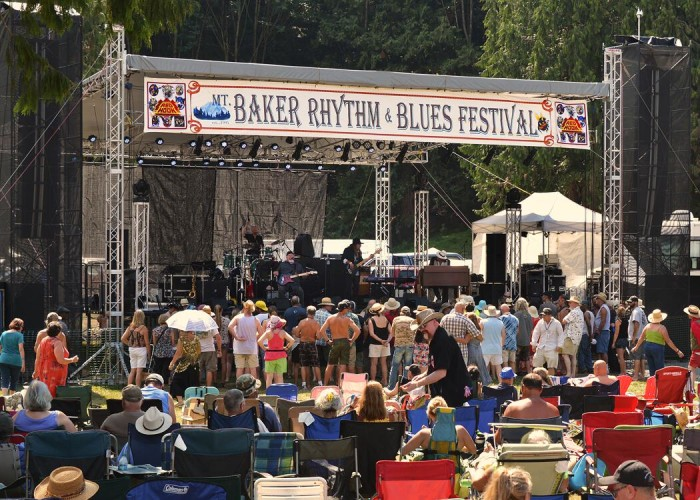 Mount Baker Rhythm & Blues Festival - Bellingham