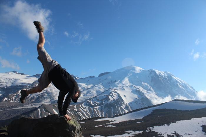 9. It's always hard to believe the beauty of Mount Rainier!