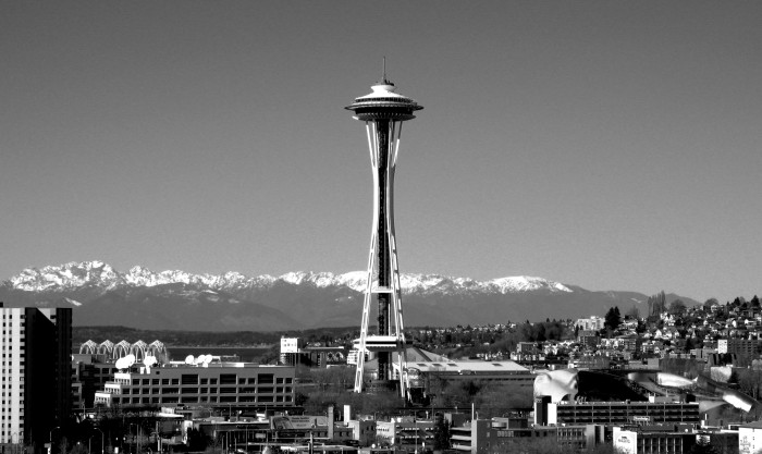 """3. """"So, you're from Washington? What's the Space Needle like?"""""""