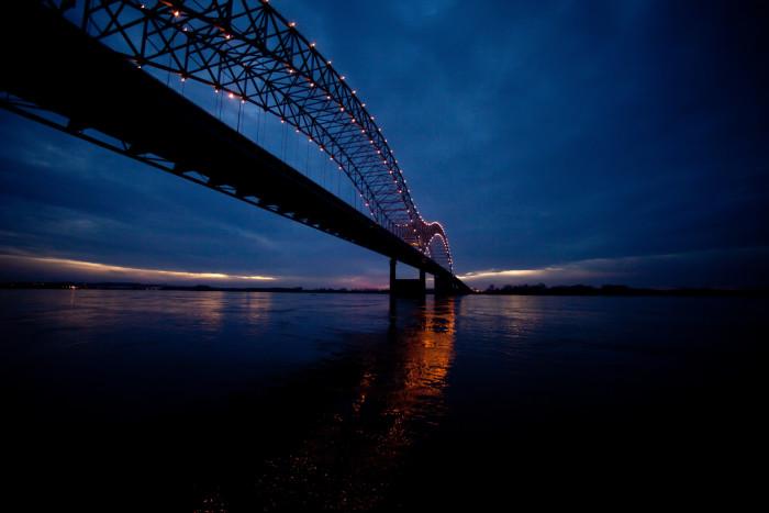 7) Nighttime bridge walks? We're in.