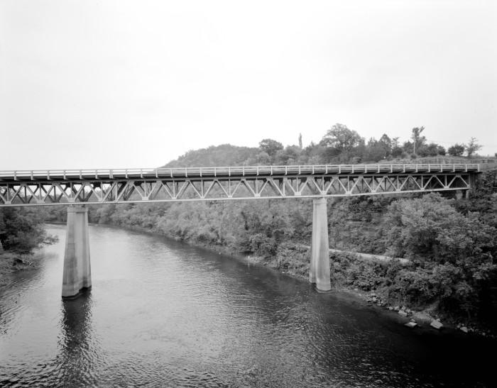 21. North Fork Bridge: This bridge carried Arkansas Highway 5 over the North Fork River, or the North Fork of the White River, in Norfork, Arkansas.