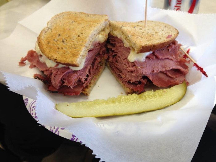 3.) ND Foods- OKC: These sandwiches are big enough to split and are made with Boars Head meat. Menu suggestion: The corned beef sandwich, soup and pie of the day.