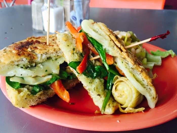 9.) Queenies- Tulsa: Located in Utica Square, Queenies offers an array of healthy options.  It is a farm to table cafe. Menu suggestion: Spring veggie sandwich or the chicken salad sandwich.