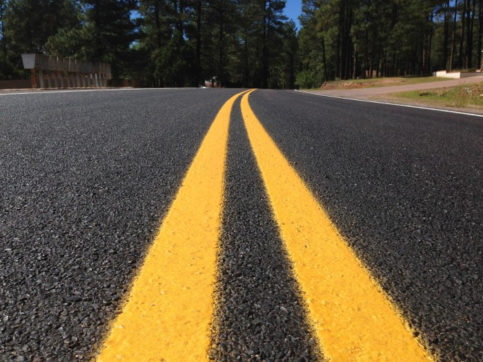 13.) Admiring roads without potholes is the topic of conversation while driving.
