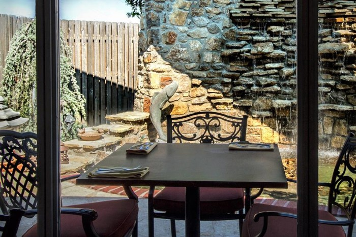1.) Samantha's Restaurant-Bartlesville: Serving lunch and dinner, this historic downtown structure is a community hotspot.  It offers a great outdoor patio and gazebo to make your dining experience special.