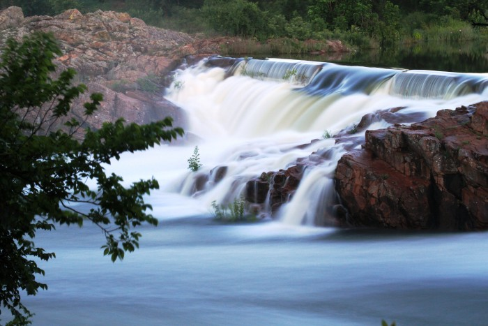 4. Medicine Park Creek, Medicine Park, OK: Found in the Wichita Mountains, this area is a great place to get away and enjoy the sound of rushing water.
