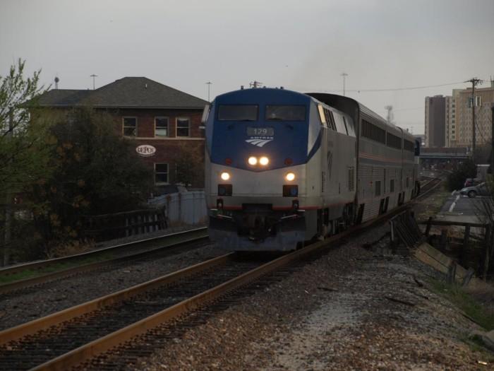 6. Amtrak Train Ride