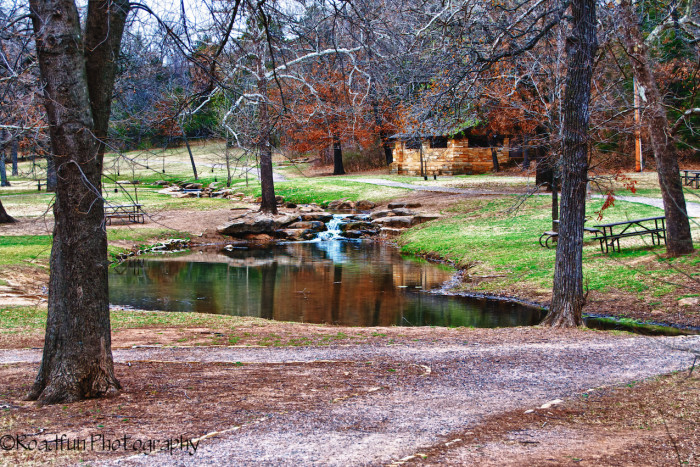 3. Chickasaw National Recreation Area