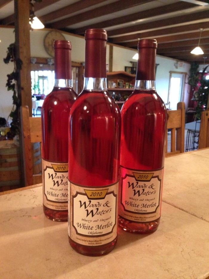 1. Woods and Waters Winery