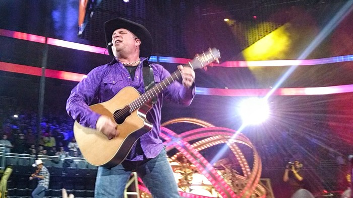 9. Garth Brooks-He was born in Tulsa, OK and attended Oklahoma State University.  Garth has sold over 100 million albums during his country music career.
