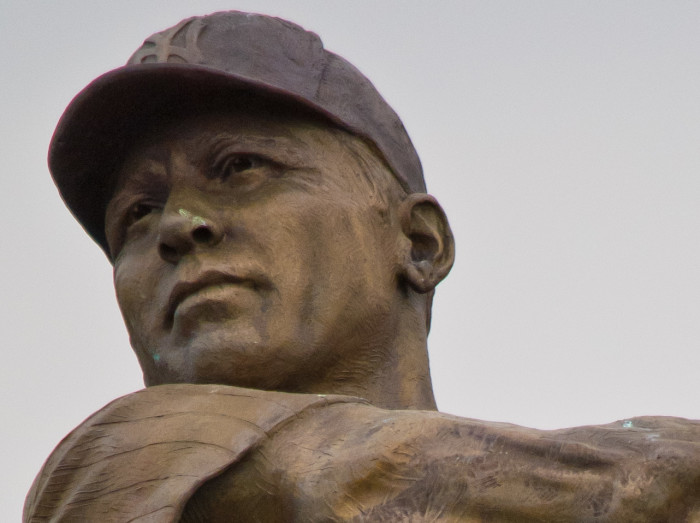 15. Mickey  Mantle-This famous New York Yankees baseball player played from 1951-1968.  He was born in Spavinaw, OK in 1931 and was inducted into the National Baseball Hall of Fame in 1974.