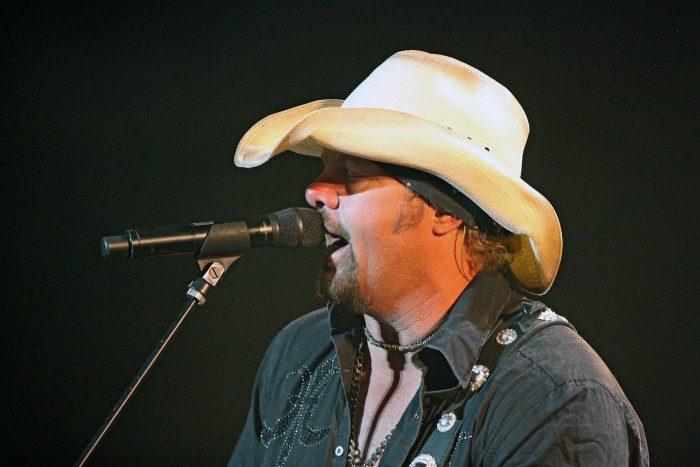 16. Toby Keith-Famous singer, songwriter and musician, Keith was born in Clinton, OK and raised in Oklahoma City.