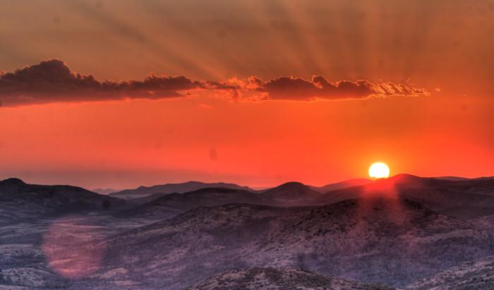 9. Mount Scott-near Lawton, OK: This one could go on a calendar...spectacular.