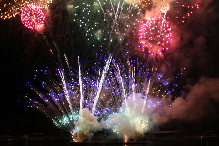 9. Duck Creek at Grand Lake Fireworks- This 4th of July celebration attracts tens of thousands of visitors along Grand Lake every year. At 4:00 p.m. watch the War Bird flyover,  a tribute to the men and women serving overseas.  The fireworks will begin at dusk.