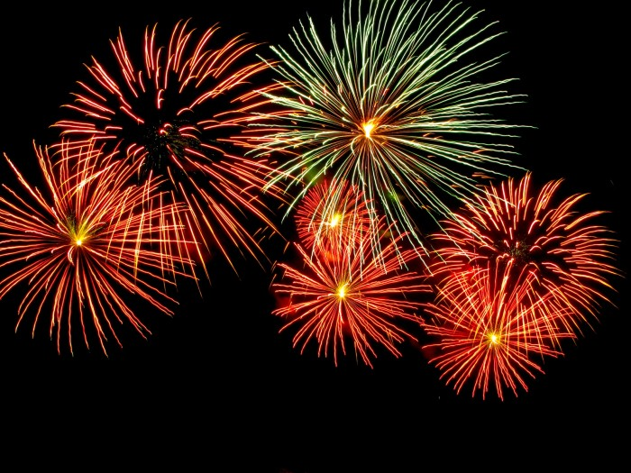 3. Celebrate with fireworks...there is something magical about watching a fireworks show or lighting them off in the front yard.