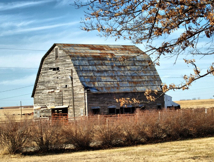 7. This decaying barn will not be forgotten in Owasso.