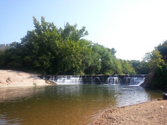 1.) Pennington Creek- Tishomingo, OK:  Here you will find a 15 acre park that provides a fun day of activities, from a simple picnic to jumping in the creek after a long hike.